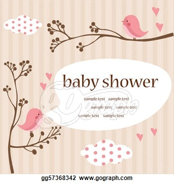 Girl baby shower clip art picture transparent stock Baby shower clipart girl border - ClipartFest picture transparent stock
