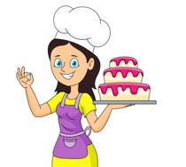 Woman baker clipart jpg library Free Girl Baker Cliparts, Download Free Clip Art, Free Clip Art on ... jpg library
