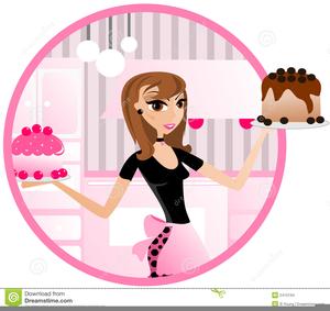 Girl baker clipart image Lady Baker Clipart   Free Images at Clker.com - vector clip art ... image