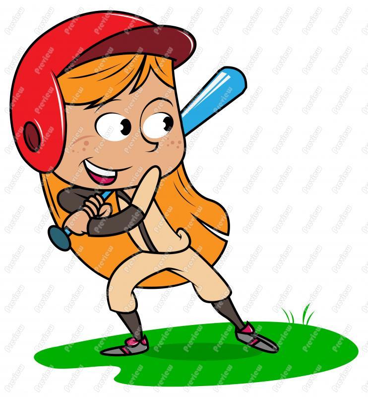 Girl baseball player clipart svg download Baseball Player Clipart Girl By Daagl - Clipart1001 - Free Cliparts svg download