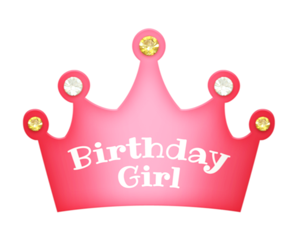 Girl birthday crown clipart clip free library birthday girl crownfreetoedit - Sticker by Chris clip free library