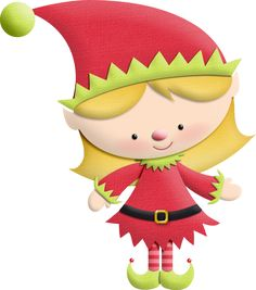 Girl christmas elf clipart freeuse stock Free Elf Clipart, Download Free Clip Art, Free Clip Art on Clipart ... freeuse stock