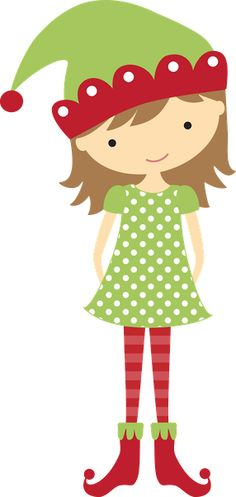 Girl christmas elf clipart svg freeuse download Free Christmas Elf Cliparts, Download Free Clip Art, Free Clip Art ... svg freeuse download