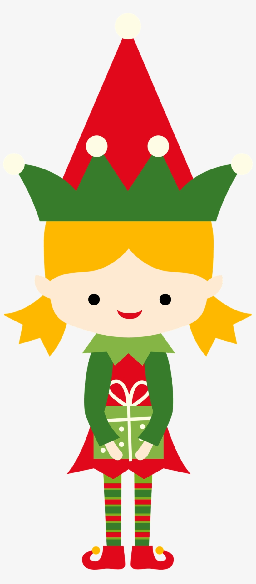 Girl christmas elf clipart png transparent library Christmas Girl Elf Clip Art - Christmas Girl Elf Clipart Transparent ... png transparent library