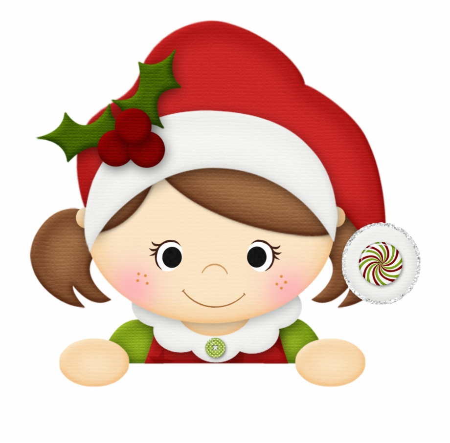 Girl christmas elf clipart image black and white Winter Clipart, Christmas Clipart, Christmas Elf, Christmas ... image black and white