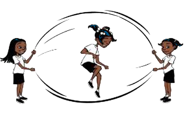 Girl double dutching clipart image free library Double dutch clipart - ClipartFest image free library
