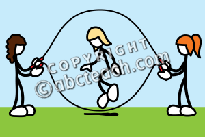 Girl double dutching clipart clipart transparent download Gallery For > Double Dutch Jump Clipart Animated clipart transparent download