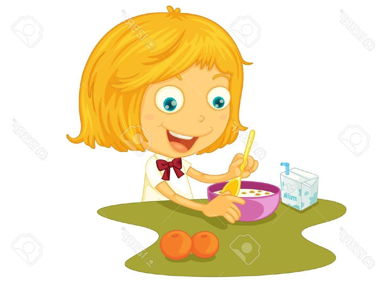 Girl eating breakfast cliparts png free library Girl Eating Breakfast Clipart (94+ images in Collection) Page 2 png free library