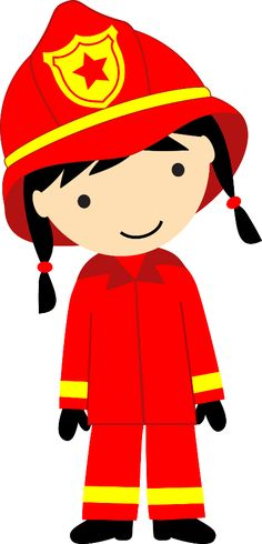 Girl firefighter clipart clipart black and white stock Free Firefighter Cliparts, Download Free Clip Art, Free Clip Art on ... clipart black and white stock