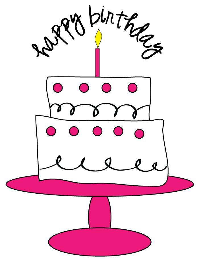 Girl first birthday cake clipart clip black and white first birthday clipart clipart kid 1st Birthday Cake Clip Art ... clip black and white