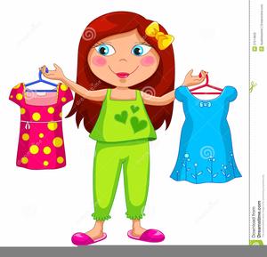 Clipart get svg transparent download Girl Getting Dressed Clipart | Free Images at Clker.com - vector ... svg transparent download
