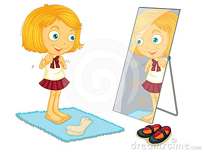Girl getting dressed clipart jpg free stock Girl getting dressed clipart - WikiClipArt jpg free stock