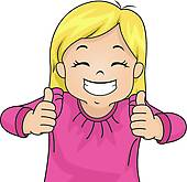 Girl giving thumbs up clipart clipart black and white download Girl giving thumbs up clipart - ClipartFest clipart black and white download