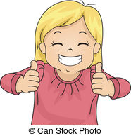 Girl giving thumbs up clipart graphic free download Girl Thumbs Up Clipart - Clipart Kid graphic free download