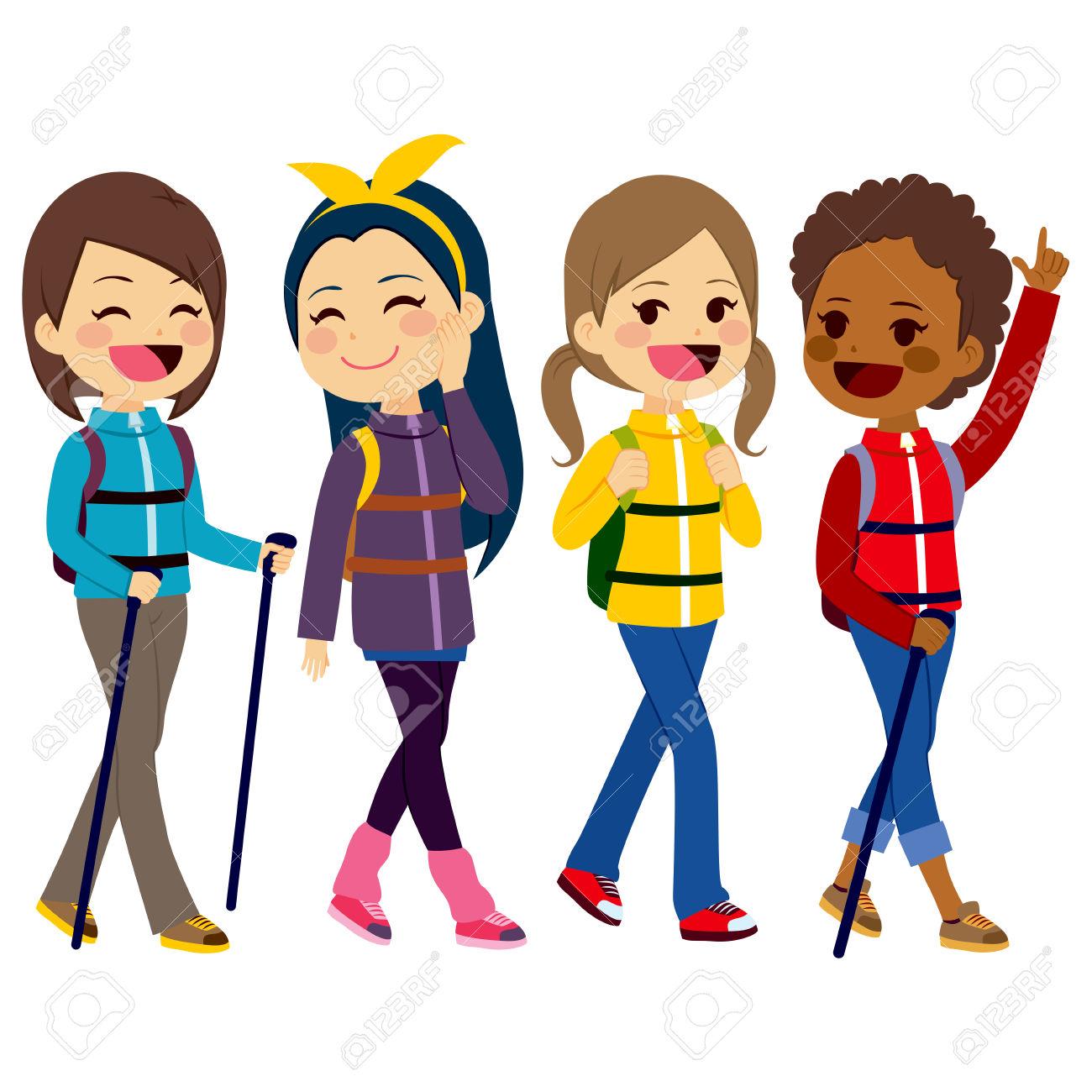 Girl hiking clipart banner download Girl Hiking Clipart | Free download best Girl Hiking Clipart on ... banner download