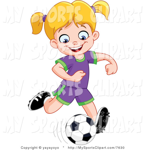 Girl hitting soccer ball clipart free library Girl hitting soccer ball clipart - ClipartFest free library