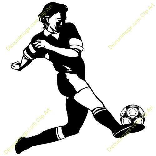 Girl hitting soccer ball clipart jpg black and white library Girl hitting soccer ball clipart - ClipartFest jpg black and white library