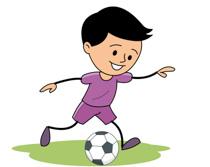 Girl hitting soccer ball clipart clip transparent stock Free Sports - Soccer Clipart - Clip Art Pictures - Graphics ... clip transparent stock