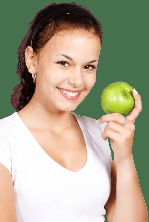 Girl holding an apple clipart jpg black and white download girl holding apple png - Free PNG Images | TOPpng jpg black and white download