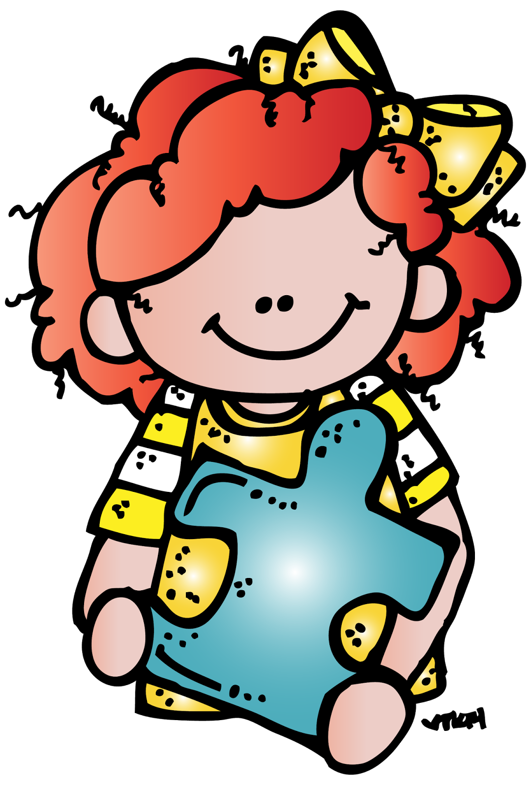 Girl holding reading book clipart clip art library download girl+1+aab+%28c%29+Melonheadz+Illustrating+LLC+2014+colored.png ... clip art library download