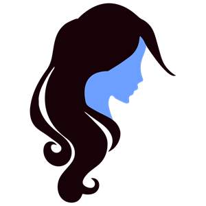 Girl icon clipart banner freeuse library Profile Woman Icon clipart, cliparts of Profile Woman Icon free ... banner freeuse library