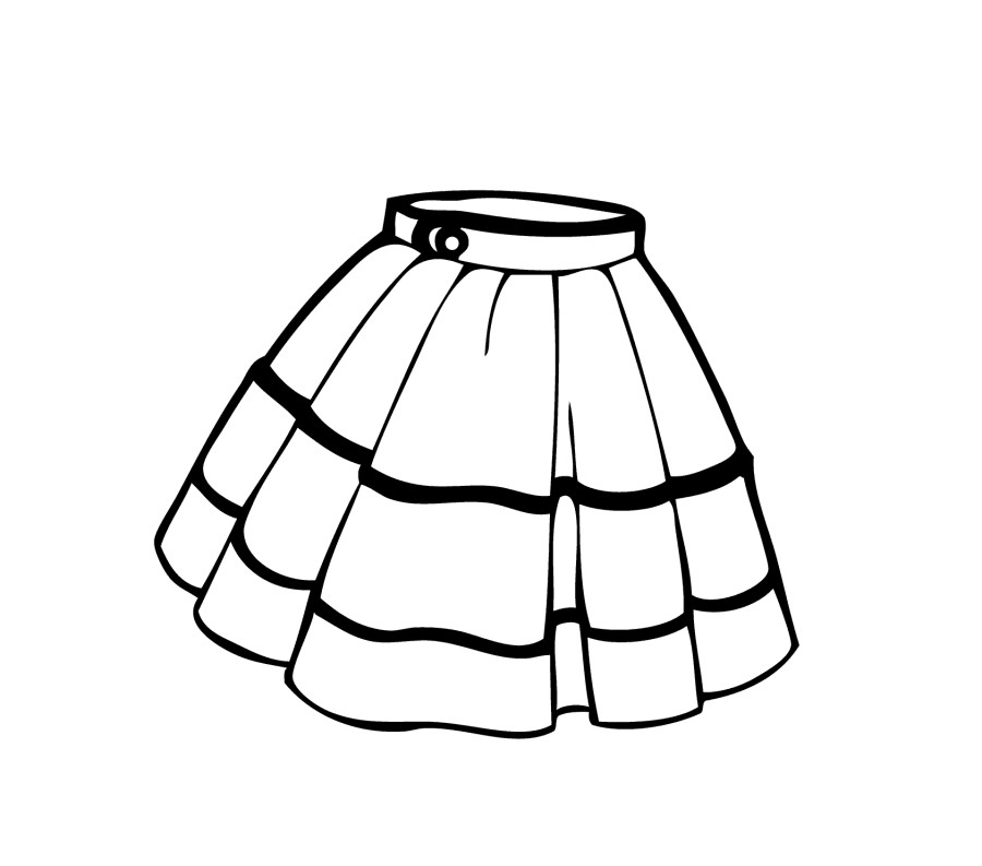Simple black and white girls clothing clipart svg free Dress Clipart Black And White | Free download best Dress Clipart ... svg free