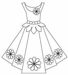 Lady in dress black and white clipart jpg Dress for girls clipart black and white 3 » Clipart Portal jpg
