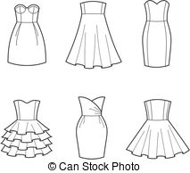 Clipart black and white dress clip library Dress Clip Art and Stock Illustrations. 218,201 Dress EPS ... clip library