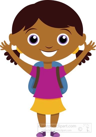Girl in school clipart vector royalty free library School Clipart Girl-student-back-to-school-clipart- Classroom Png ... vector royalty free library