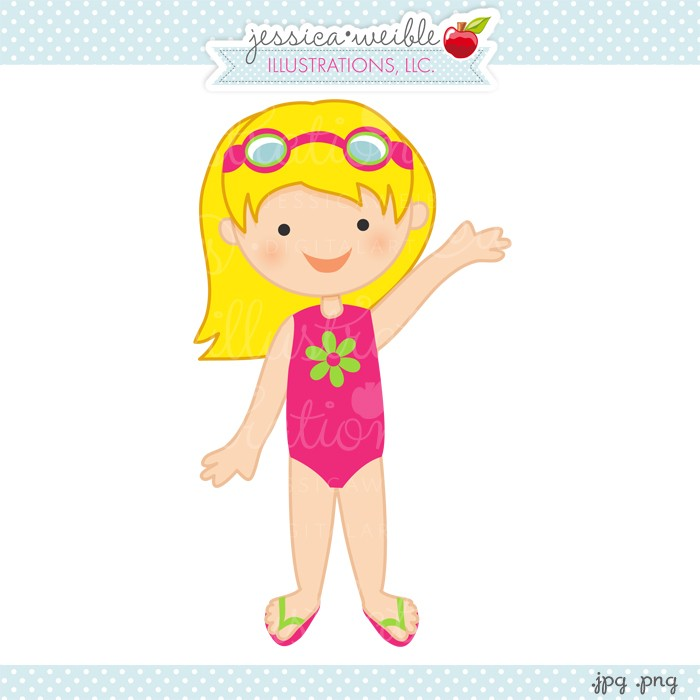 Girl in swimsuit clipart clip art free library Free Bathing Suits Cliparts, Download Free Clip Art, Free Clip Art ... clip art free library