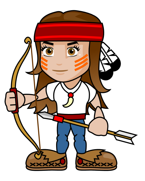 Girl leaving house clipart graphic download 28+ Collection of Girl Archery Clipart | High quality, free cliparts ... graphic download