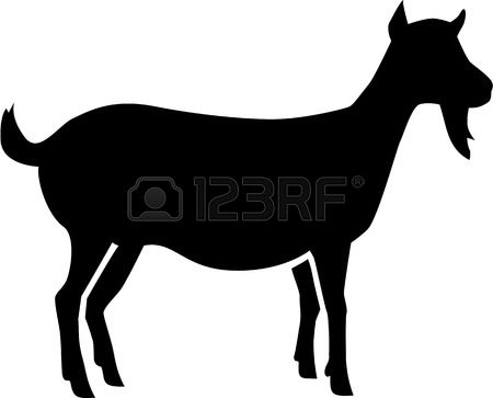 Girl looking out window at goats clipart clip art freeuse stock Boer Goat Silhouette | Free download best Boer Goat Silhouette on ... clip art freeuse stock