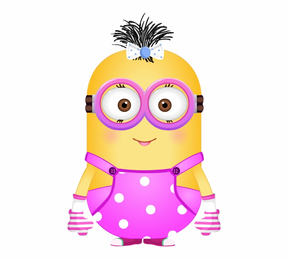 Girl minion clipart picture library library Girl Despicable Me - Pink Minion Free PNG Images & Clipart Download ... picture library library