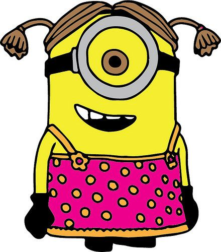 Girl minion clipart png free library Girl Minion | SVGs - The Craft Chop | Girl minion, Minions, Minion ... png free library