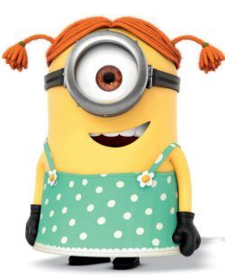 Girl minion clipart image library stock Girl Minion Clip Art Free | Minion girl | birthday parties | Funny ... image library stock