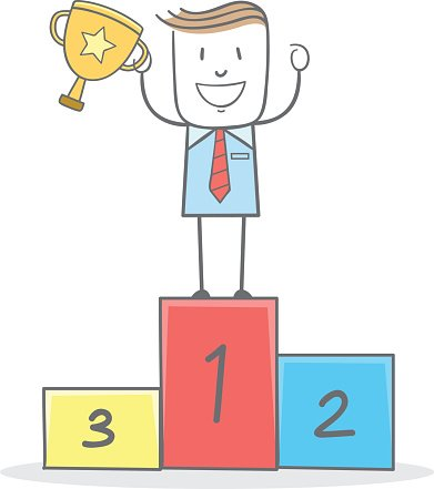 Girl on stage holding a winning trophy clipart clipart freeuse Businessman Holding Trophy ON Stage premium clipart - ClipartLogo.com clipart freeuse
