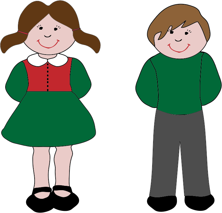 Girl or boy clipart image free library Free Boy And Girl Clipart, Download Free Clip Art, Free Clip Art on ... image free library