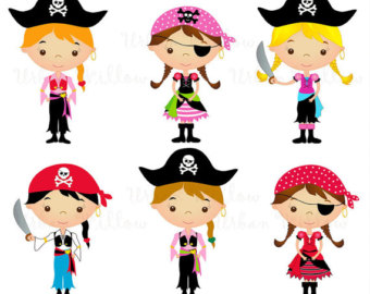 Girl pirate clipart banner transparent Free Pirate Girl Cliparts, Download Free Clip Art, Free Clip Art on ... banner transparent
