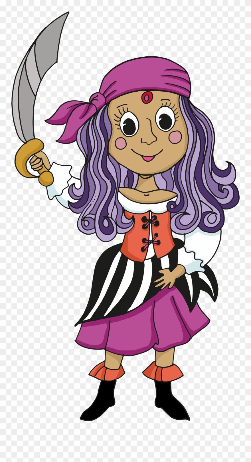 Girl pirate clipart clip transparent Pirate Free Download - Pirate Clipart (#1358058) - PinClipart clip transparent