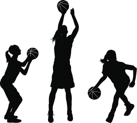 Girl player basketball clipart black and white banner royalty free stock Free Girls Basketball Cliparts, Download Free Clip Art, Free Clip ... banner royalty free stock