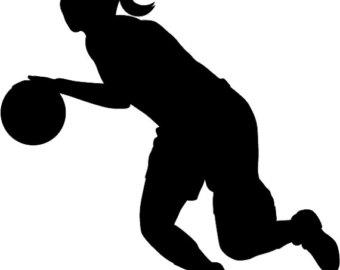 Girl player basketball clipart black and white clip freeuse stock Girl Basketball Clipart | Free download best Girl Basketball Clipart ... clip freeuse stock