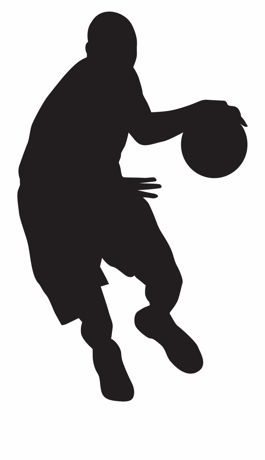 Girl player basketball clipart black and white graphic black and white stock Kids Playing Basketball Black And White Clipart Basketball ... graphic black and white stock