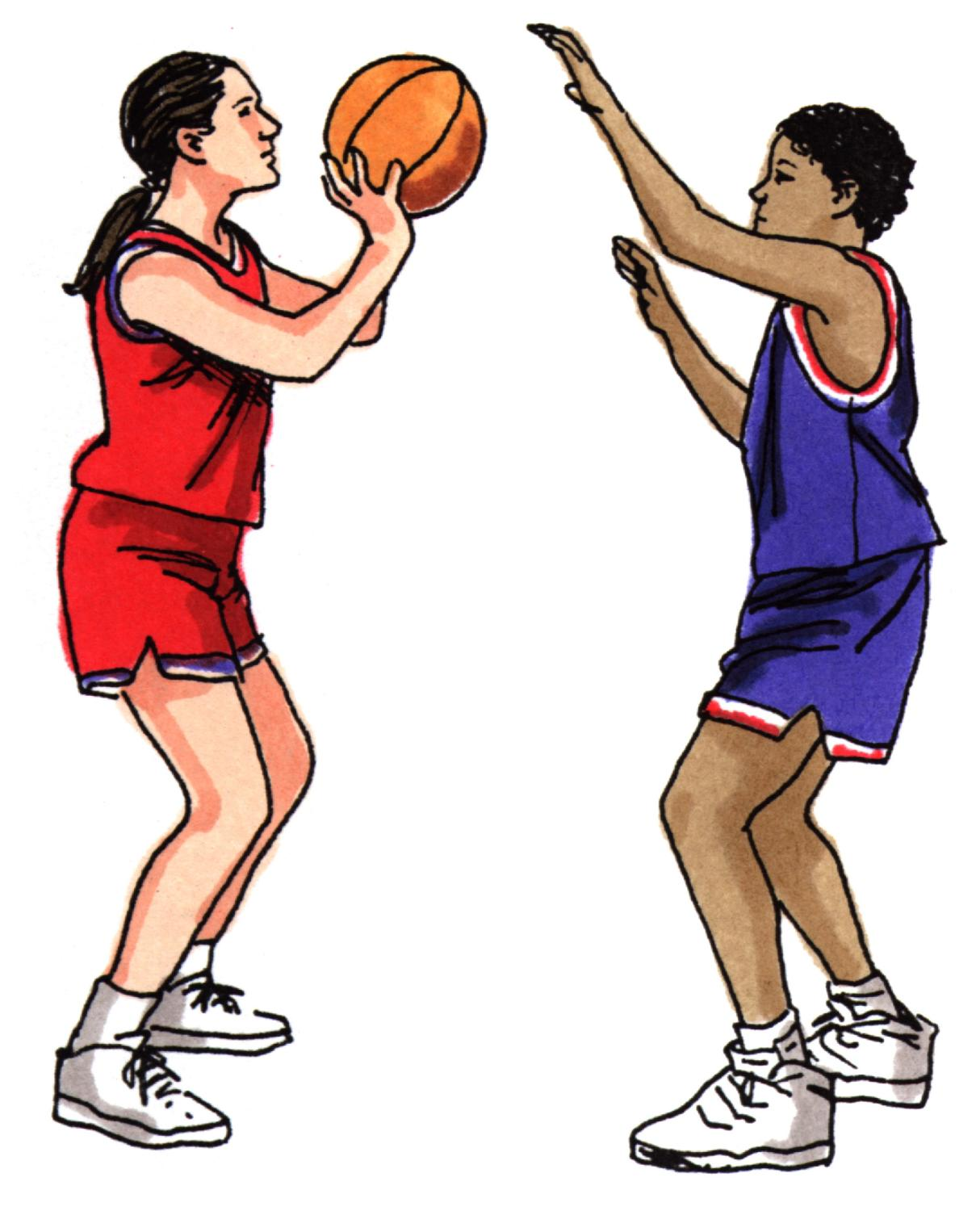 Girl playing basketball in regular clothes clipart svg black and white stock Free Pictures Of Girls Playing Basketball, Download Free Clip Art ... svg black and white stock