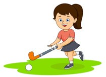 Girl playing hockey clipart svg transparent Girl Playing Hockey » Clipart Portal svg transparent