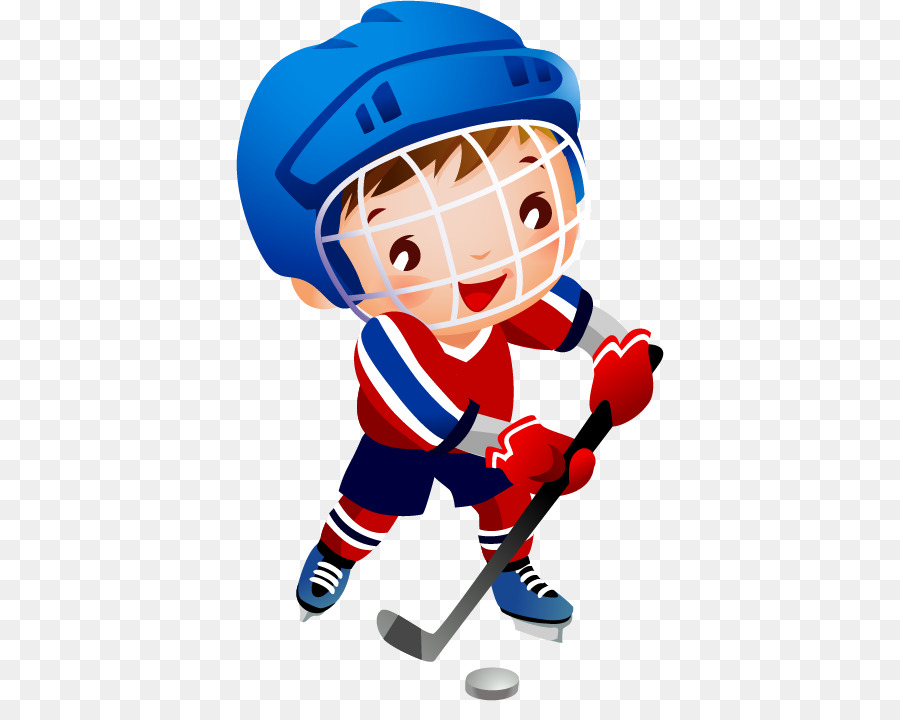 Girl playing hockey clipart image free library Football Helmet png download - 428*701 - Free Transparent Hockey png ... image free library