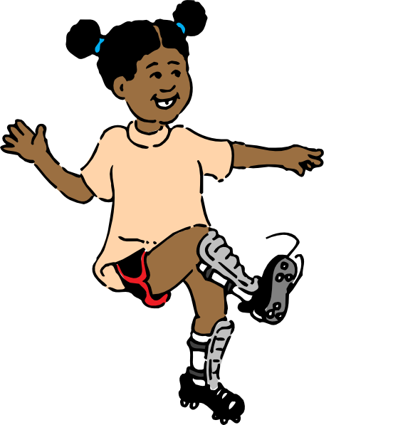 Girl playing soccer and basketball clipart vector freeuse download Girl Soccer Buble Clip Art at Clker.com - vector clip art online ... vector freeuse download