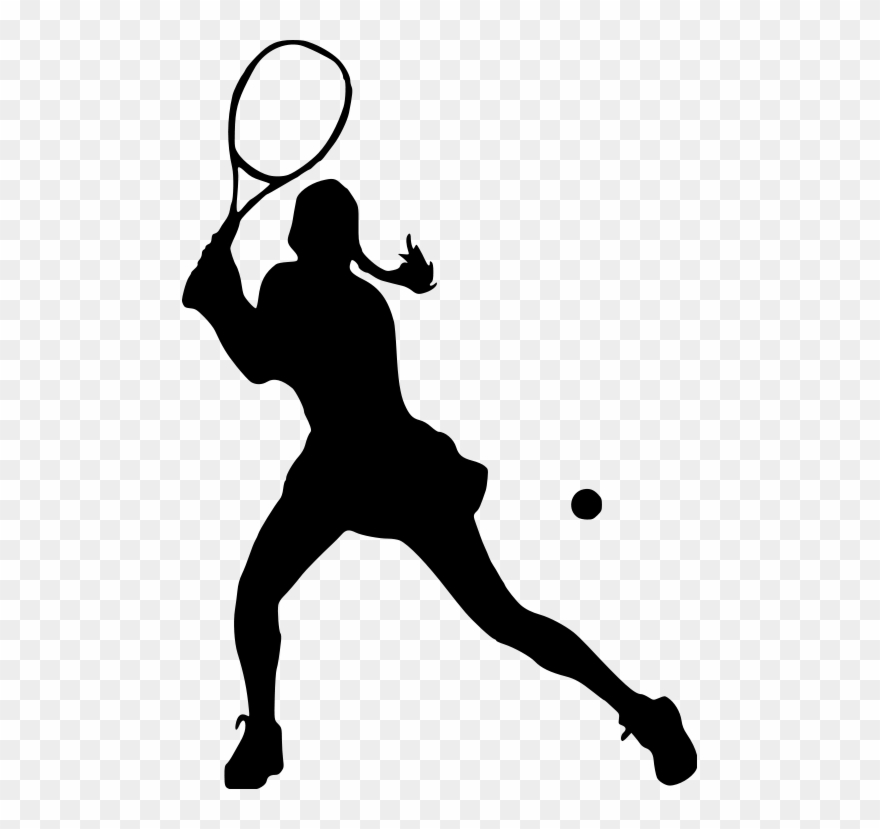 Girl playing tennis clipart black and white banner royalty free library Amazin Tumbler Image Gallery For Cusyom Tumbler Designs - Girl ... banner royalty free library