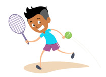 Girl playing tennis clipart black and white png library download Search Results for tennis - Clip Art - Pictures - Graphics ... png library download
