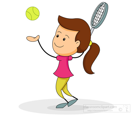 Girl playing tennis clipart black and white clip royalty free Playing Tennis Clipart | Free download best Playing Tennis Clipart ... clip royalty free