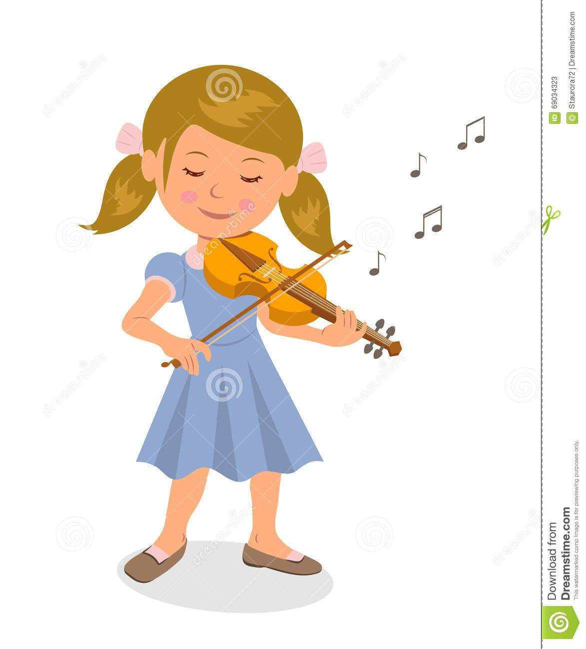 Girl playing the violin clipart vector free library Girl playing violin clipart 7 » Clipart Portal vector free library
